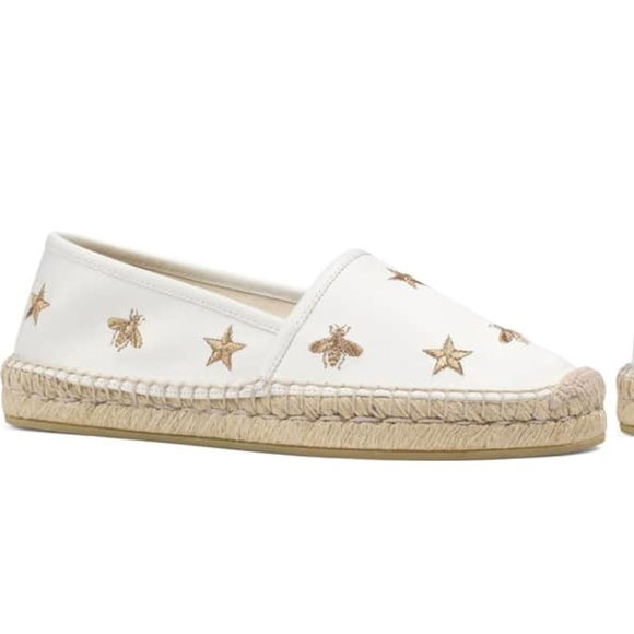 98904b6f3f48 Gucci Shoes - Gucci Pilar Bee Embroidery Espadrille